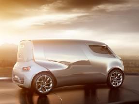 Futuristic Van